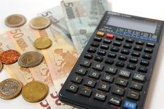 Cuenta del dinero Imagenes de archivo
