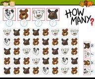 Cuenta del ejemplo de la historieta del juego Fotos de archivo libres de regalías
