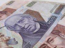 Cuenta del Peso del mexicano mil Imagen de archivo libre de regalías