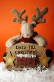 Cuenta descendiente II. de la Navidad Fotos de archivo libres de regalías