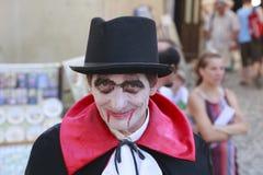Cuenta Dracula imagen de archivo libre de regalías