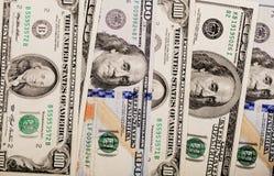 $100 cuentas Fotografía de archivo libre de regalías