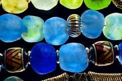 Cuentas de cristal Fotografía de archivo libre de regalías