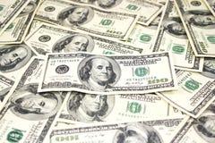 Cuentas de dólar Fotos de archivo