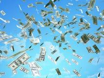 Cuentas de dólar Imagen de archivo libre de regalías