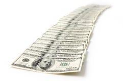 Cuentas de dólar Foto de archivo