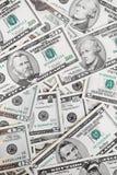 Cuentas de dólar Fotografía de archivo