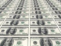 Cuentas de dólar Fotografía de archivo libre de regalías