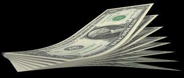 Cuentas de dólar Foto de archivo libre de regalías