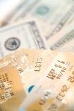 Cuentas de la tarjeta de crédito Fotografía de archivo libre de regalías