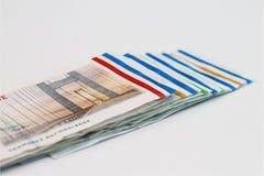 Cuentas de las coronas danesas Imágenes de archivo libres de regalías
