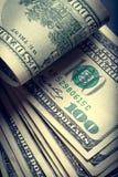 Cuentas del americano del dinero fotografía de archivo