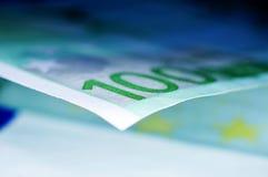 Cuentas euro Imagen de archivo libre de regalías