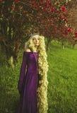 Cuento de hadas de Rapunzel Fotos de archivo