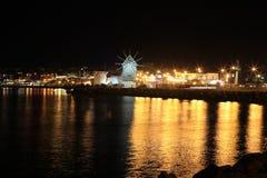 Cuento de la noche en Nessebar fotografía de archivo