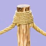 Cuerda atada imagen de archivo