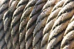 Cuerda atada Foto de archivo libre de regalías