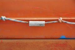 Cuerda azul clara Imagen de archivo libre de regalías