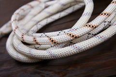 Cuerda blanca Fotografía de archivo libre de regalías