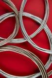 Cuerda de acero Fotos de archivo libres de regalías