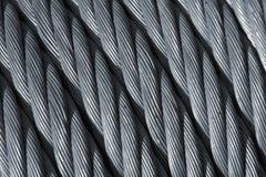 Cuerda de acero Fotografía de archivo libre de regalías