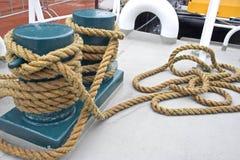Cuerda de barco Imagen de archivo libre de regalías