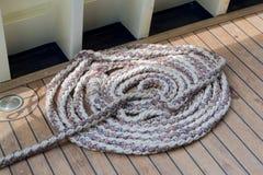 Cuerda de barco colorida foto de archivo libre de regalías