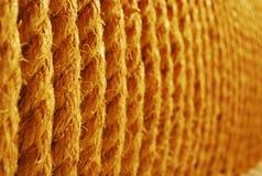 Cuerda de Brown Fotografía de archivo libre de regalías