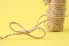 Cuerda de empaquetado foto de archivo