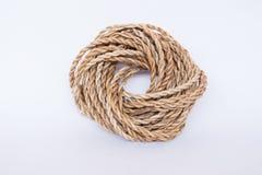 Cuerda de la fibra del plátano Foto de archivo libre de regalías