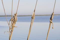 Cuerda de la navegación Imagen de archivo