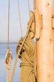 Cuerda de la navegación Fotos de archivo
