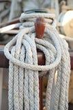 Cuerda de la navegación Fotografía de archivo