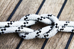 Cuerda de la navegación Foto de archivo