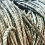 Cuerda de la pesca Foto de archivo libre de regalías