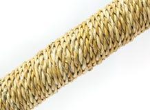 Cuerda de la torsión de la fibra del plátano Fotografía de archivo