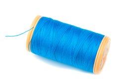 Cuerda de rosca azul Imagen de archivo