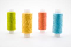 Cuerda de rosca coloreada Foto de archivo