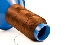 Cuerda de rosca de Brown Foto de archivo