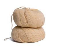 Cuerda de rosca de las lanas imagen de archivo libre de regalías