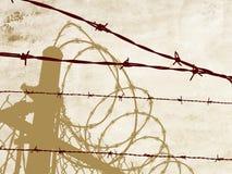 Cuerda de rosca deshuesada Fotos de archivo libres de regalías
