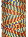 Cuerda de rosca multicolora Fotos de archivo libres de regalías