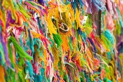 Cuerda de rosca multicolora Imagenes de archivo