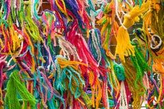 Cuerda de rosca multicolora Fotografía de archivo