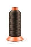Cuerda de rosca negra Fotos de archivo
