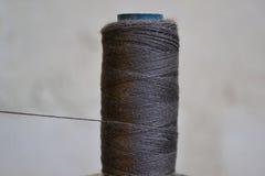 Cuerda de rosca negra Foto de archivo libre de regalías