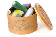 Cuerda de rosca para coser Fotografía de archivo libre de regalías