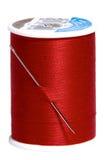 Cuerda de rosca roja Fotos de archivo libres de regalías