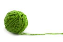 Cuerda de rosca verde Imágenes de archivo libres de regalías