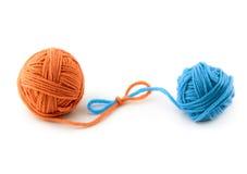 Cuerda de rosca verde Foto de archivo